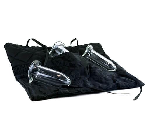 Dilator Set of 3 -Glass