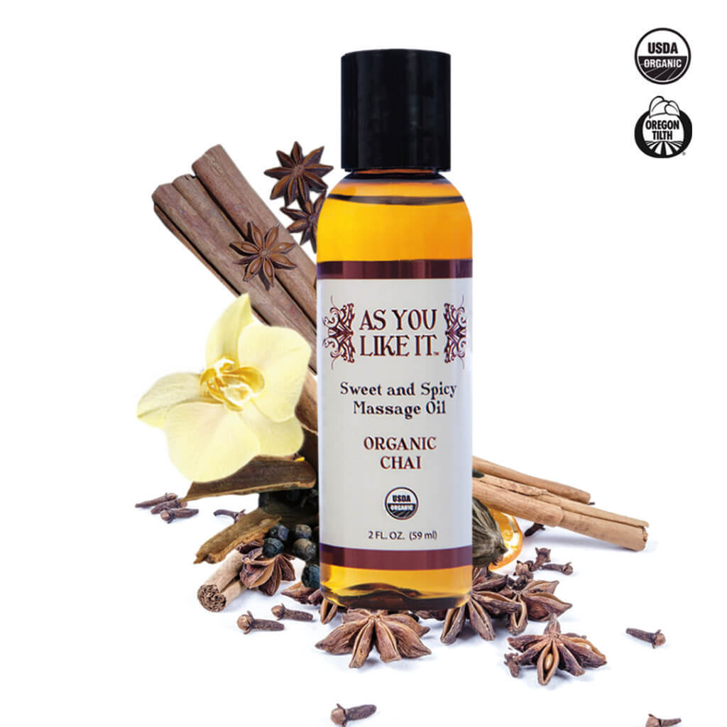Organic Chai Massage Oil