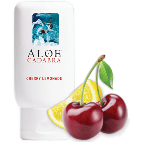 Aloe Cadabra Cherry Lemonade Bottle