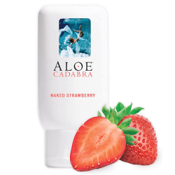 Aloe Cadabra Strawberry Bottle