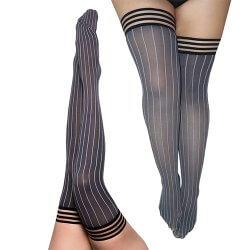 Annabelle Perfect Pinstripe Thigh-High
