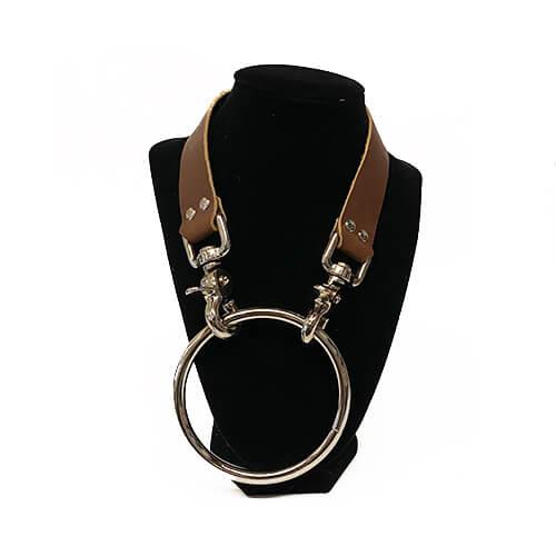 Moonbxy Collar by RiverQueer Leatherwork