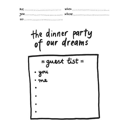 the dinner party of our dreams