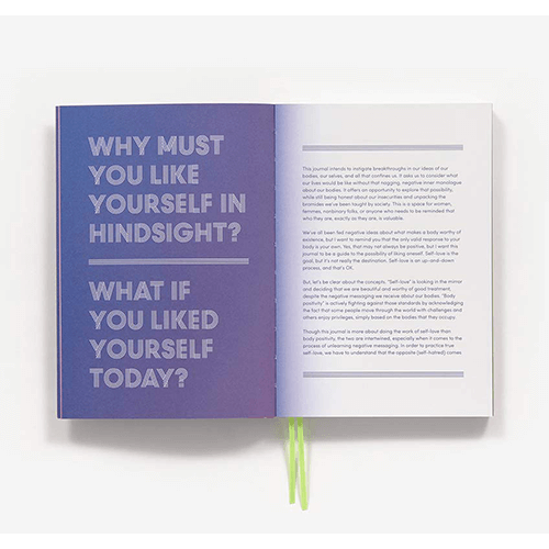 what if you liked yourself today?