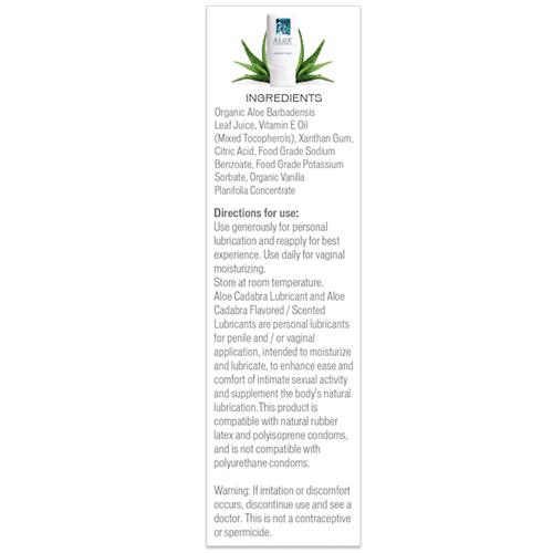 Aloe Cadabra Box Ingredient List