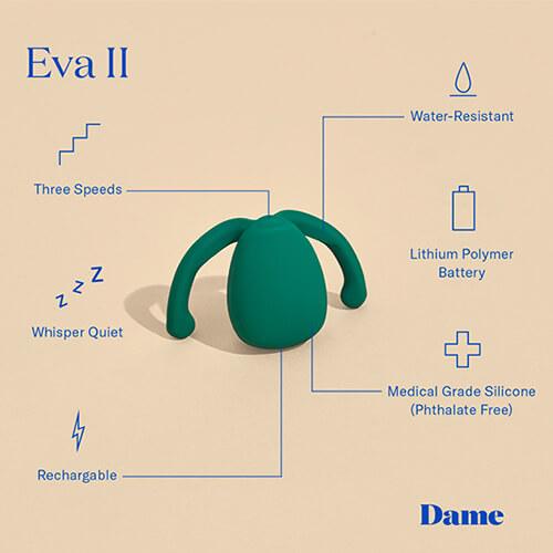 Eva 2 Hands Free Vibrator