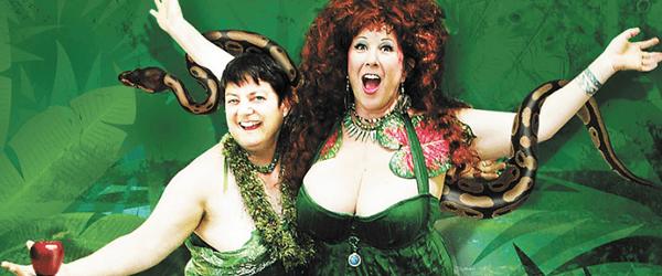 Beth Stephens and Annie Sprinkle