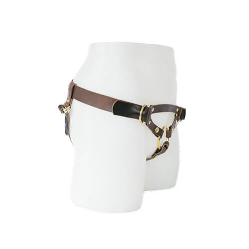 Camryn Adjustable Leather Harness