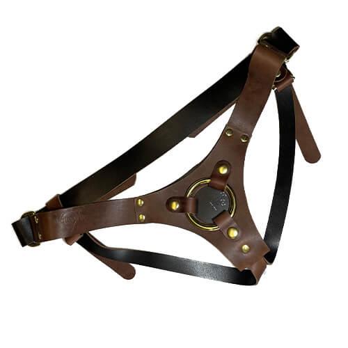 Ramona Adjustable Leather Harness