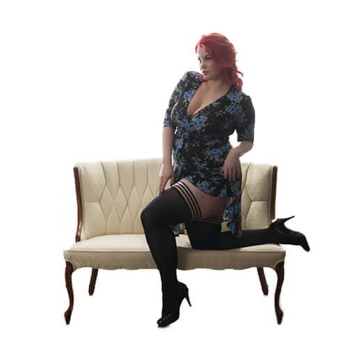 Dana-Lynn Ribbed Thigh-High